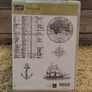 Stampin Up! Stamp set. The open seas